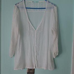 White feminine blouse